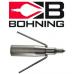 2 x quality Bohning Bowfishing points (Bohning Bowfishing points)