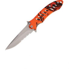 "Remington F.A.S.T 5"" closed Camo Folding Pocket Knife"