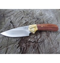 Tassie Tiger Knives - 3.1Skinning knife with Leather Sheath