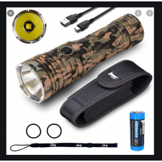 WUBEN T70 4200 Lumens Camo Torch, rechargable High Capacity Battery 4200 Lumens